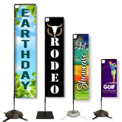 Heavy Duty Rectangle Banners