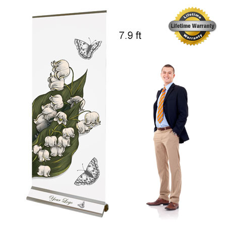 Lush Banners Retractable Banner Stands Graphic