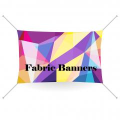 9 oz Fabric Banner