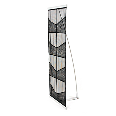 8 Pocket Mesh Literature Stand