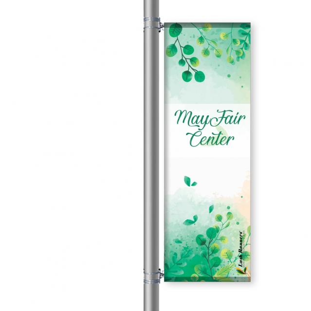 Street Pole Banner, 24 Single Set