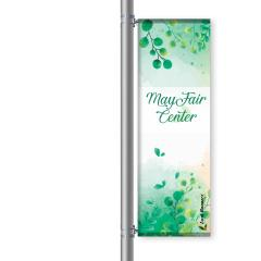 Street Pole Banner, 24 Single Set