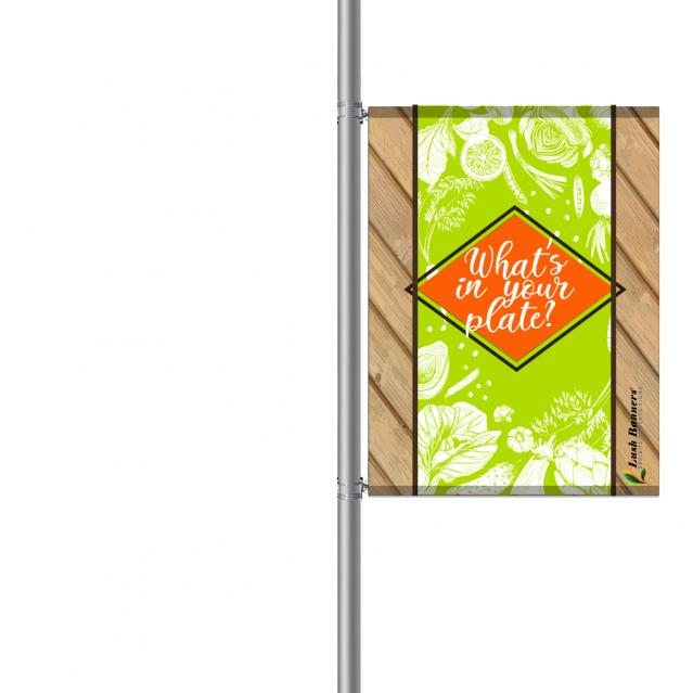 Street Pole Banner, 36 Single Set