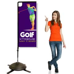8ft Heavy Duty Rectangle Banner