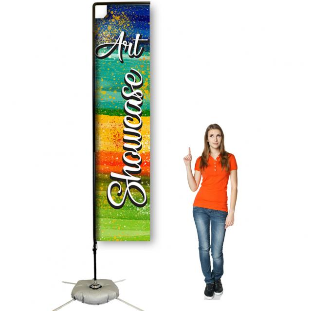 12ft Heavy Duty Rectangle Banner