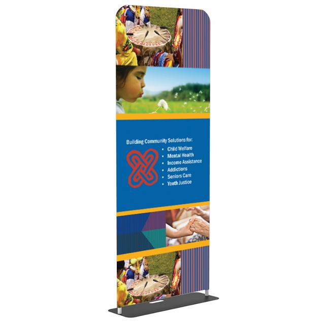 48 Fabric Banner Stands | Tension Fabric Stands