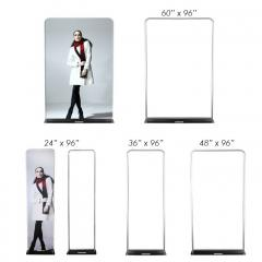 Tension Fabric Stand Size Chart