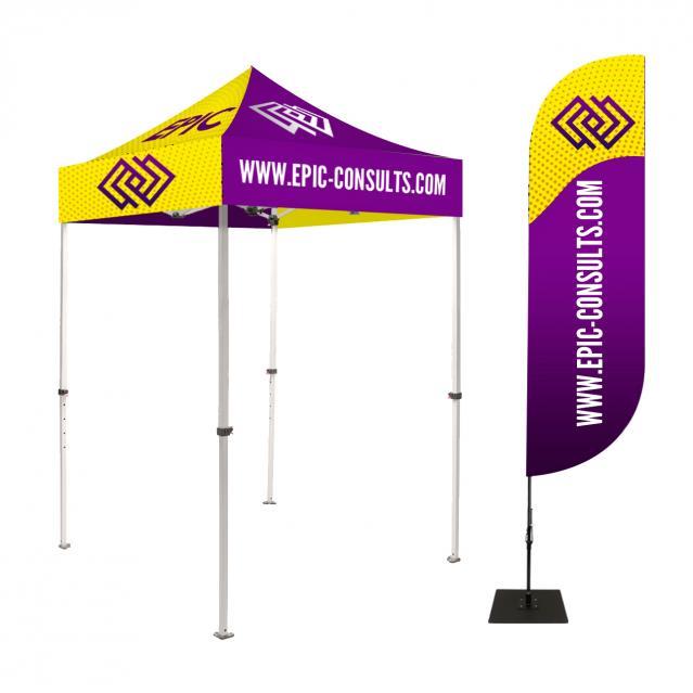 6ft Custom Canopy Tent