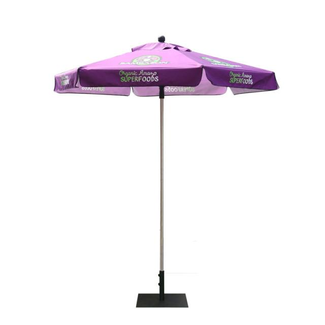 Custom Market Umbrellas 8ft Hex