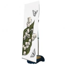 Outdoor Water Base Banner Stand (Single Side)