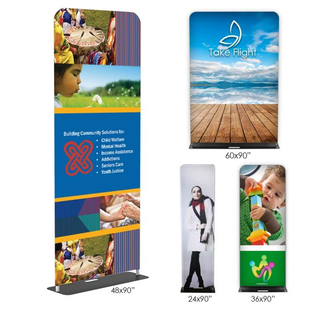 (A10) - Fabric Banner Stands (Double-Sided)