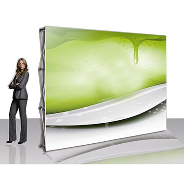 (P1F) - 10ft Premium Magnetic Pop Up Display Straight(P1E) - 8ft Premium Magnetic Pop Up Display Straight