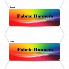 9 oz Fabric Banner (Double-Sided)
