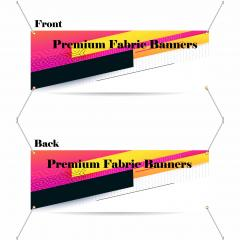 9.5 oz Blockout Fabric Banners (Regular) (Double-Sided)