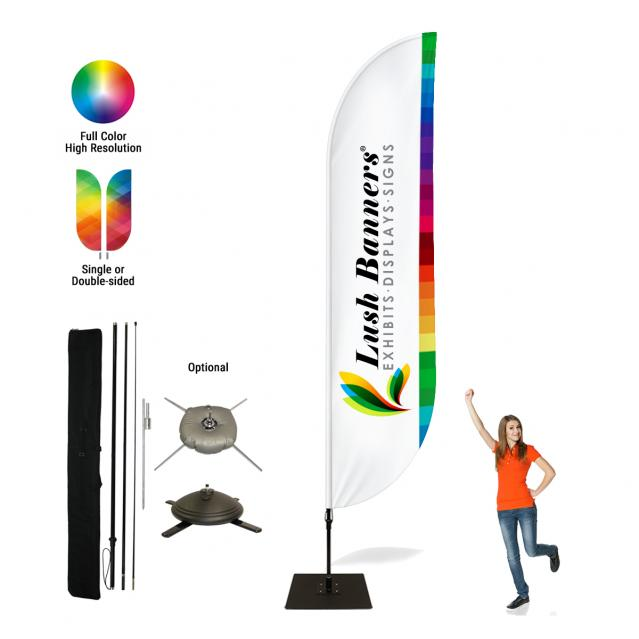 17ft Feather Banners (B1D)