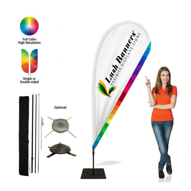 8ft Teardrop Flags (B2B)