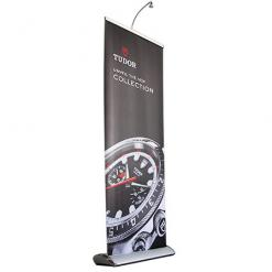 Retractable Banner Stand Premium with light